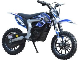 MotoTec 36v Electric Dirt Bike 500w Lithium Blue