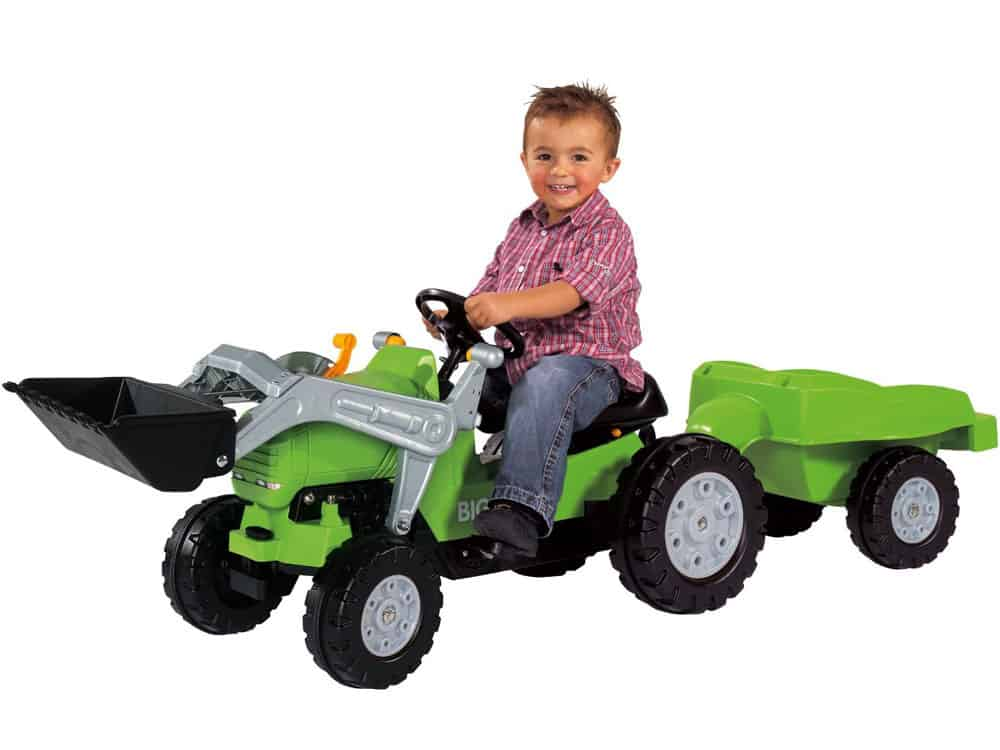Big Jimmy Pedal Tractor Loader plus Trailer