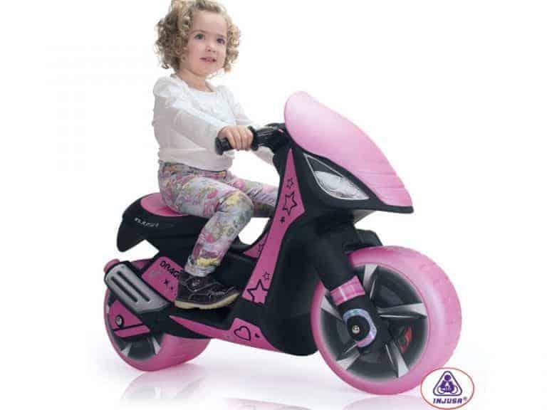 Injusa Dragon Scooter 6v Pink