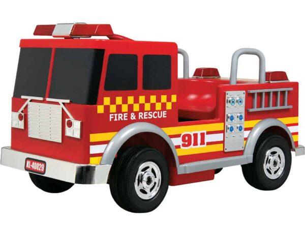 Kalee Fire Truck 12v Red