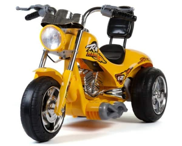 Mini Motos Red Hawk Motorcycle 12v Yellow