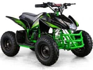 MotoTec 24v Mini Quad Titan v5 Black/Green