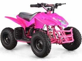 MotoTec 24v Mini Quad Titan v5 Pink