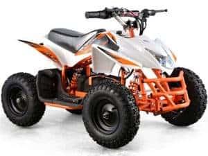 MotoTec 24v Mini Quad Titan v5 White