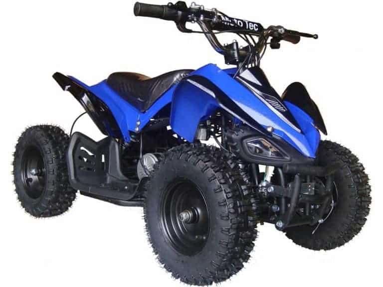 MotoTec 24v Mini Quad v2 Blue