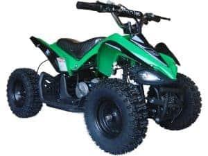 MotoTec 24v Mini Quad v2 Green