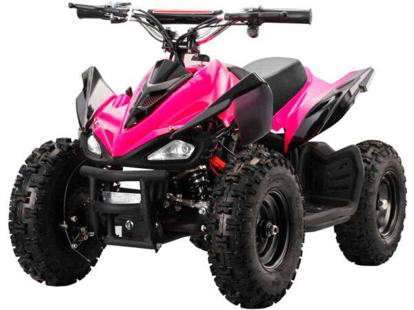 MotoTec 24v Mini Quad v2 Pink