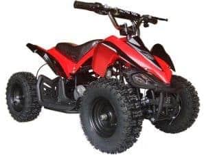 MotoTec 24v Mini Quad v2 Red