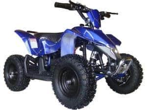 MotoTec 24v Mini Quad v3 Blue