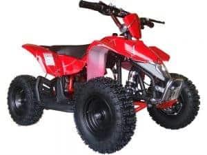 MotoTec 24v Mini Quad v3 Red