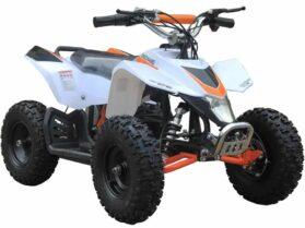 MotoTec 24v Mini Quad v3 White