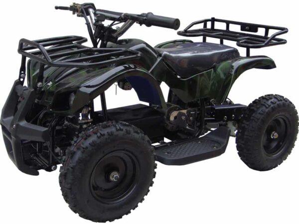MotoTec 24v Mini Quad v4 Camo Green