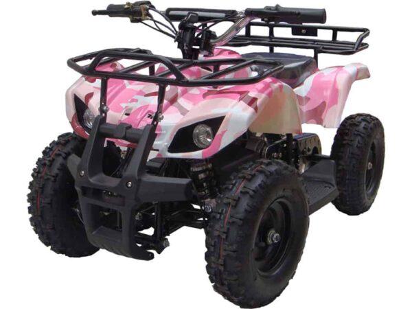 MotoTec 24v Mini Quad v4 Pink