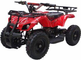MotoTec 24v Mini Quad v4 Red