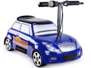 MotoTec 24v Mini Racer V2 Blue