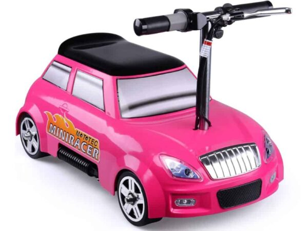 MotoTec 24v Mini Racer V2 Pink