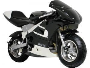 MotoTec Gas Pocket Bike 33cc 2-Stroke Black