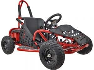 MotoTec Off Road Go Kart 48v 1000w Red