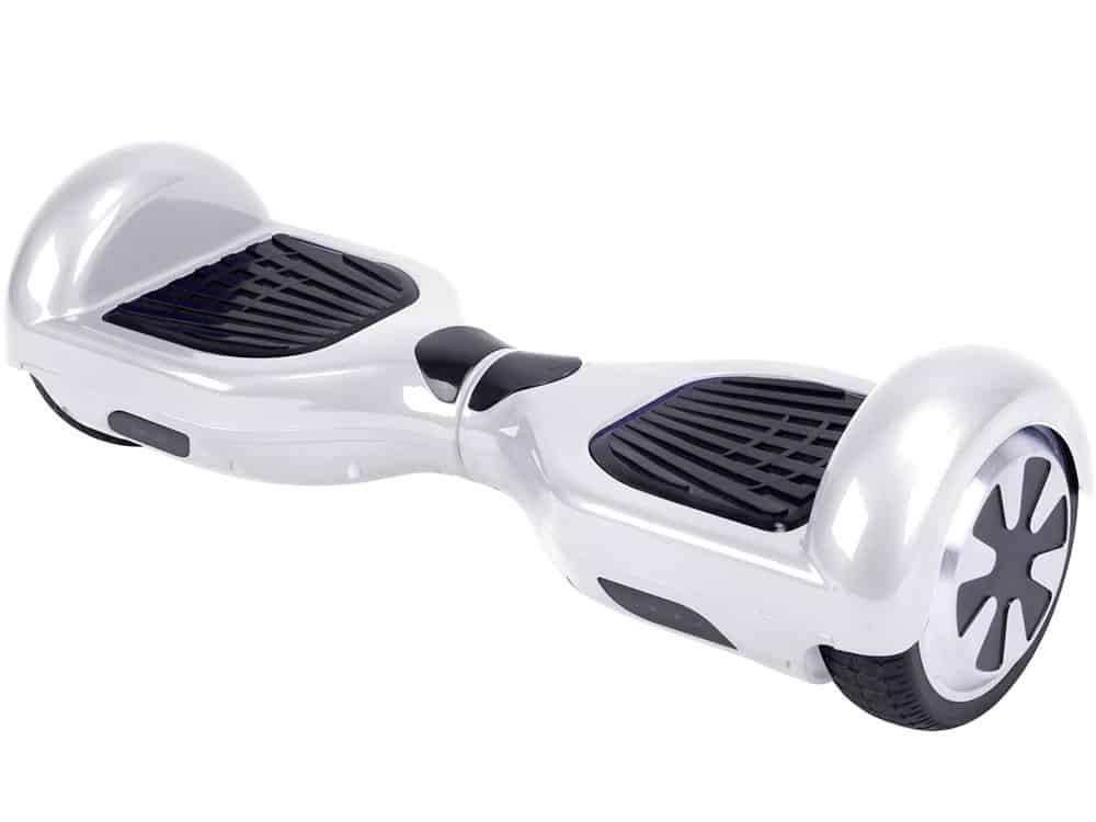 MotoTec Self Balancing Scooter 36v 6.5in White