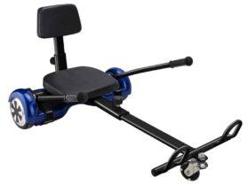 MotoTec Self Balancing Scooter Go Kart Attachment Black
