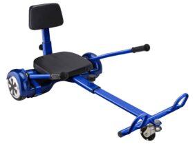 MotoTec Self Balancing Scooter Go Kart Attachment Blue