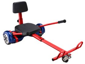 MotoTec Self Balancing Scooter Go Kart Attachment Red