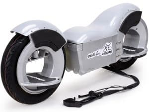 MotoTec Wheelman V2 1000w Electric Skateboard Silver
