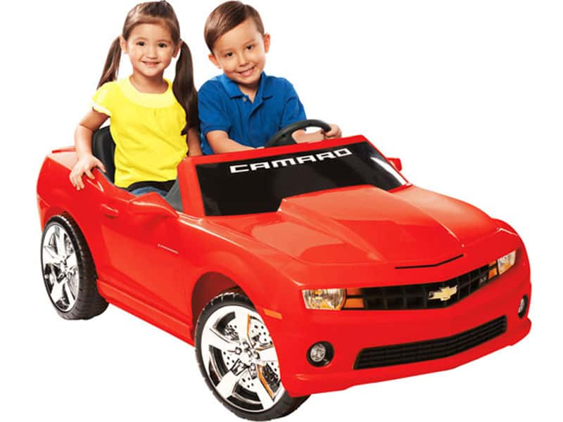NPL Chevrolet Racing Camaro 12v Car Red_2