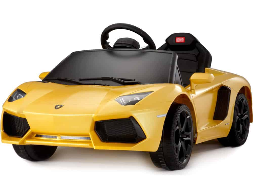 Rastar Lamborghini Aventador LP700-4 6v Yellow (Remote Controlled)
