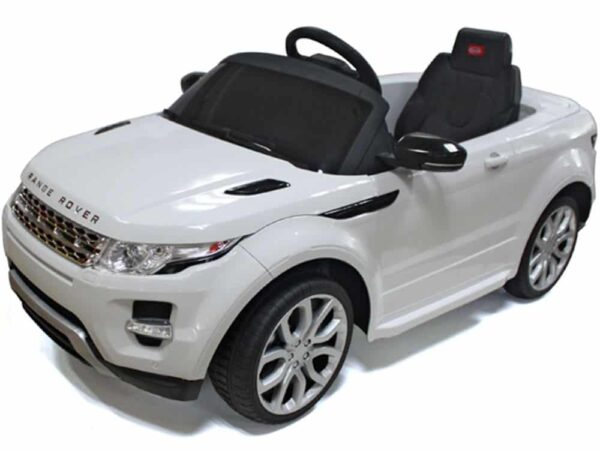 Rastar Land Rover Evoque 12v White (Remote Controlled) Specifications: