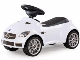 Rastar Mercedes SLK 55 AMG Foot To Floor White