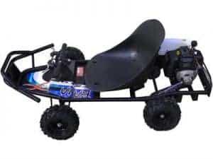 ScooterX Baja kart 49cc Black/Blue