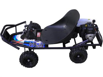ScooterX Baja kart 49cc Black/Blue