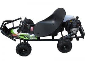 ScooterX Baja kart 49cc Black/Green