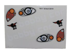 Big Bobby Car - Sticker Kit