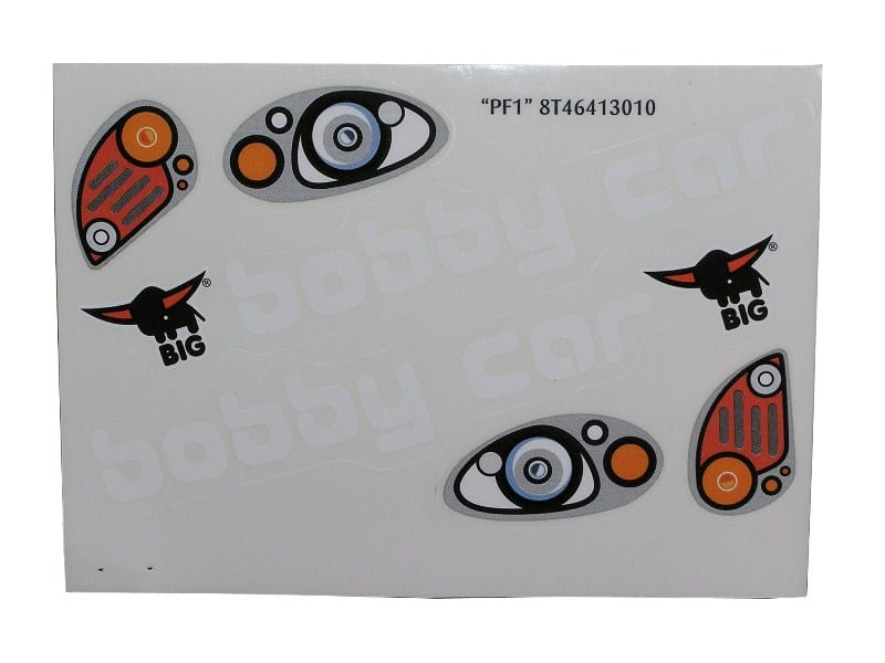 Big Bobby Car – Sticker Kit