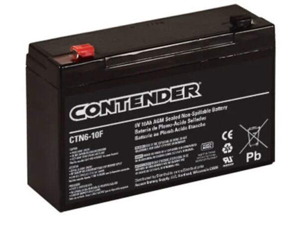 Duracell 6 Volt Battery (10AH)