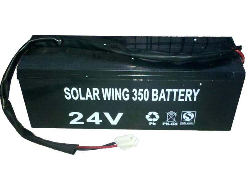MotoTec Solar Kart – 24v Battery Pack CUSTOM MADE