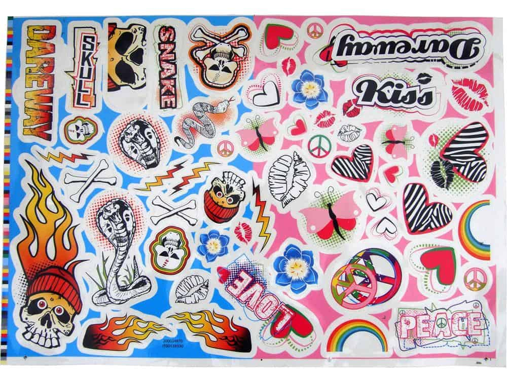 Feber Dareway 12v Scooter - Sticker Decals Kit