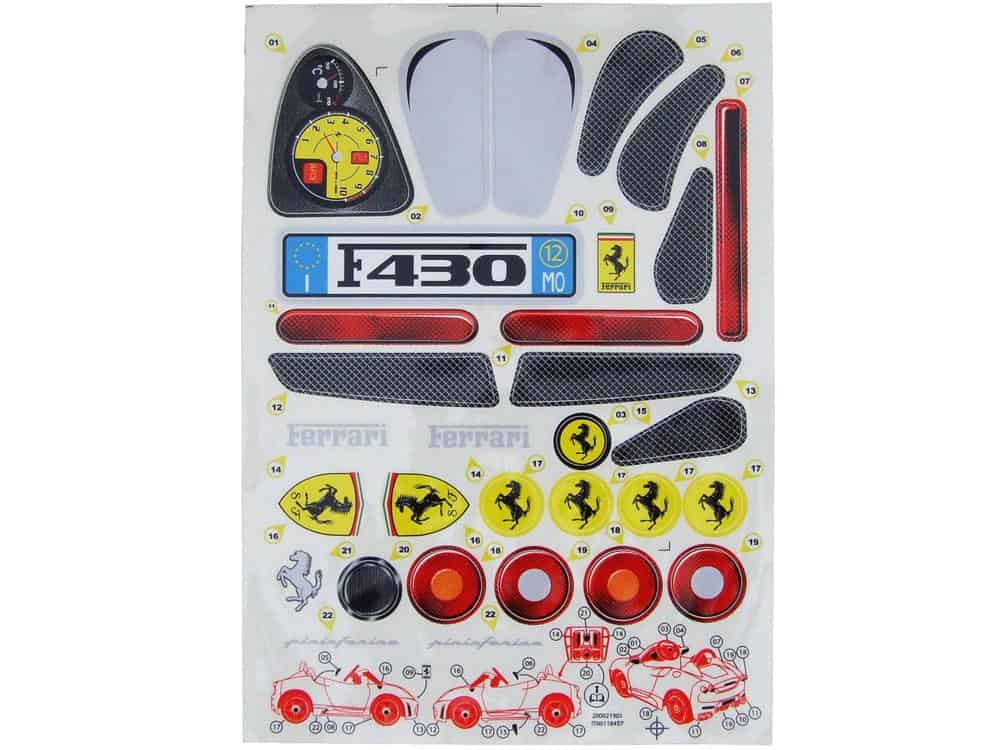 Feber F430 Sticker Kit