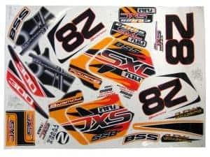 Feber SXC Sticker Kit