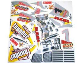 Injusa Thunder Max VX 12v - Sticker Kit