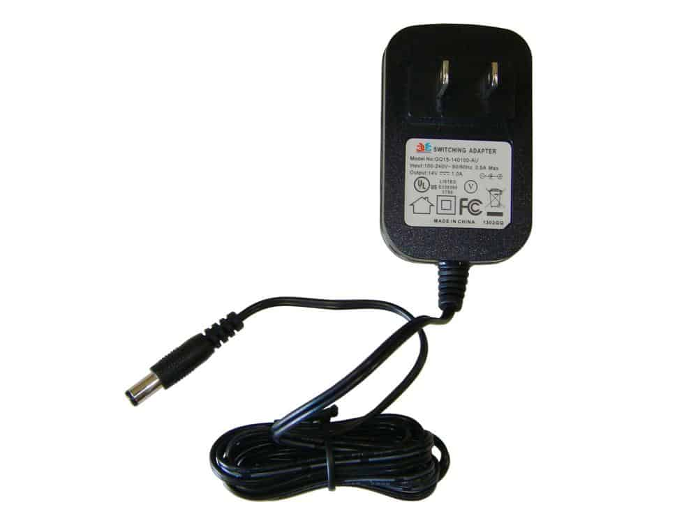 Kalee 14v 1000mA Battery Charger (Barrel End)