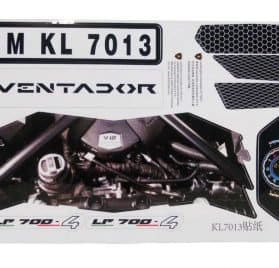 Kalee Lamborghini Aventador LP700-4 12v - Sticker Kit
