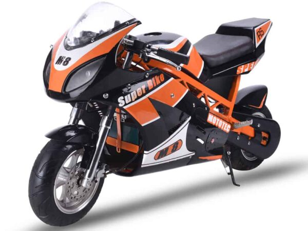 MotoTec 1000w 48v Electric Superbike Black