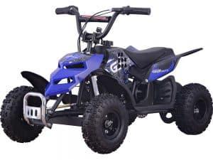 MotoTec 24v 250w ATV Mini Monster v1 Blue_3