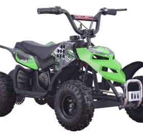 MotoTec 24v 250w ATV Mini Monster v1 Green
