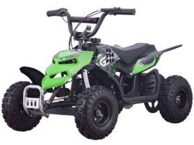 MotoTec 24v 250w ATV Mini Monster v1 Green_4