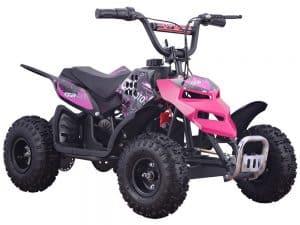 MotoTec 24v 250w ATV Mini Monster v1 Pink