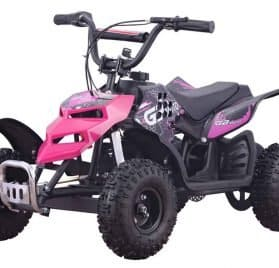 MotoTec 24v 250w ATV Mini Monster v1 Pink_5